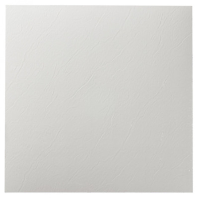 Vinyl Floor Tiles Solid Peel N Stick Floor Decor Home Solid White 20 pieces 12""