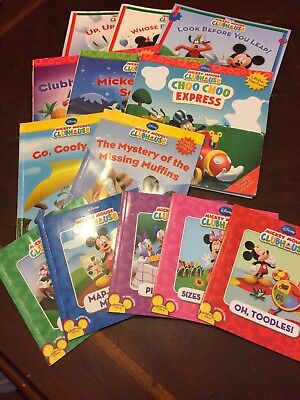 13 Mickey Mouuse Clubhouse Books