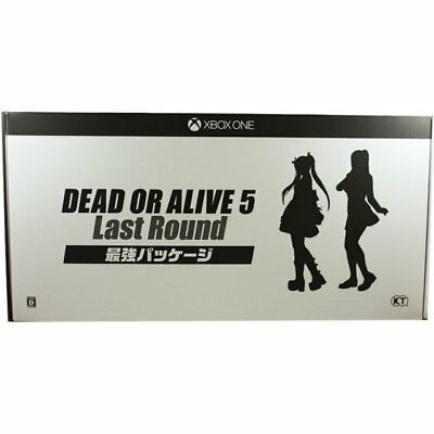 DEAD OR ALIVE 5: LAST ROUND Collectors XboX One figure set mouse pad Poster DLC