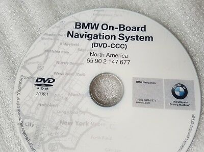 Genuine BMW Navigation Update disc #677 2009.1 Professional DVD-CCC 100% OEM MAP