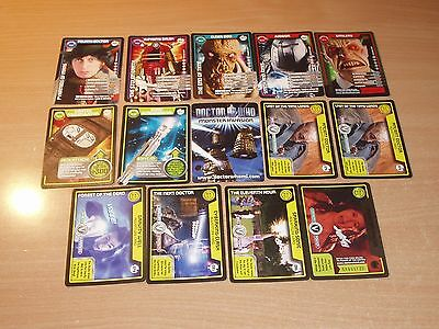Doctor Who Monster Invasion TEST Series cards lot very rare