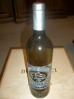 RARE 1999 Breeders' Cup Meet Gulfstream Park Wine Bottle! Marked! Foil Intact!