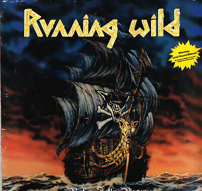 Running Wild - Under Jolly Roger, orig.first press. by German Speed Metal band