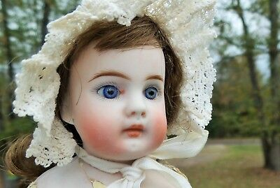 STUNNING! FRENCH Market? ANTIQUE Bisque CLOSED MOUTH Fashion MYSTERY DOLL TLC