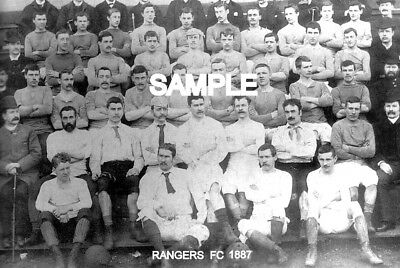 Rangers  FC 1887  Team Photo