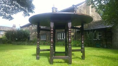 A 17th Century Oak Gate-Leg Table