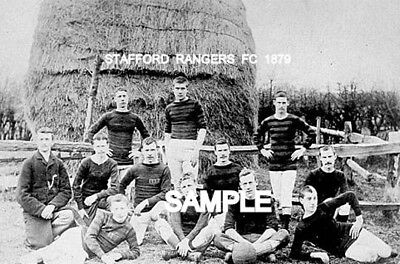 Stafford Rangers FC 1879  Team Photo