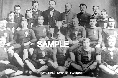 Walsall Swifts FC 1882  Team Photo