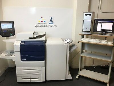 Xerox Color 560 Copier Printer Scanner EX560 Finisher GREAT CONSUMABLES 266k !!!