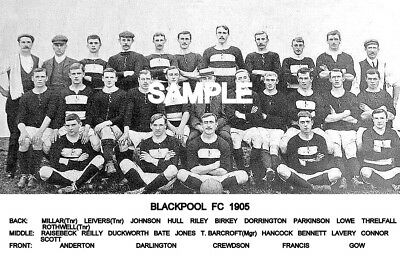 Blackpool FC 1905  Team Photo
