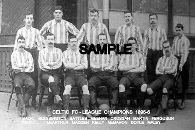 Celtic FC 1895-6  Team Photo