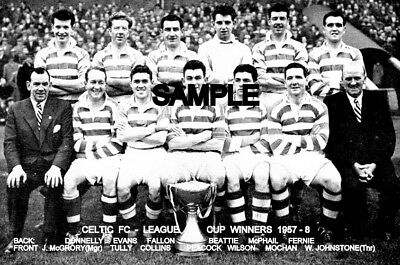 Celtic FC 1957-8  Team Photo