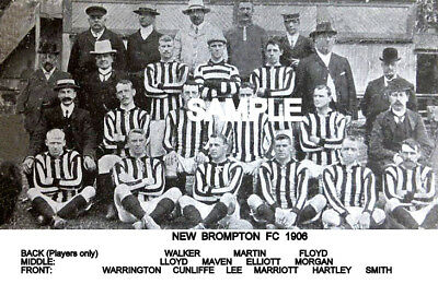 New Brompton (Gillingham) FC 1906 Team Photo
