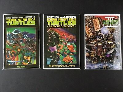 TEENAGE MUTANT NINJA TURTLES Lot of 3: MOVIE, MOVIE II, MOVIE III 1-SHOT SPECIAL