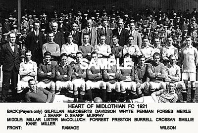 Heart of Midlothian FC 1921 Team Photo