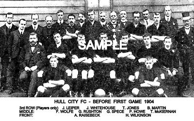 Hull City FC 1904 Team Photo