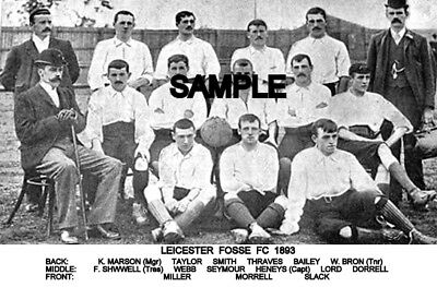 Leicester Fosse FC 1893 Team Photo