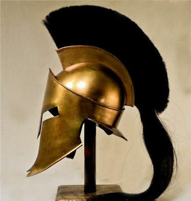 New Movie Spartan King-Leonidas+Medieval Roman Helm Greek Liner Reenactment D1