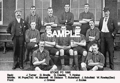 Stoke FC 1895 Team Photo