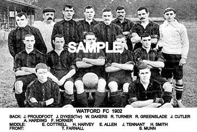 Watford FC 1902 Team Photo