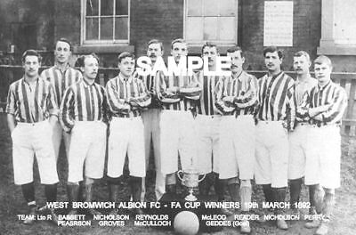 West Bromwich Albion FC 1892 Cup Team Photo
