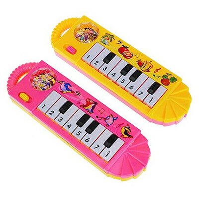 Baby Infant Toddler Kids Musical Piano Developmental Toy Early Educational U9L1