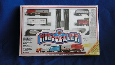 Bachmann N Scale Highballer Train Set, New in Unopened Box