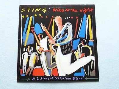 Sting :  Bring On The Night / 2-LP, Ois