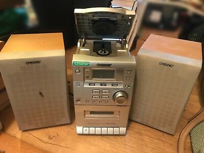 Sony CMT-EP30 Micro Hifi Stereo System CD Tape Radio Player