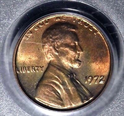 1972 DDO cent FS 101 (strongest var. &  needed for  Registry set. PCGS MS-65 RED