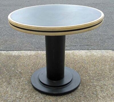 """36"""" Round Top Deco Style Restaurant / Bar Table"""