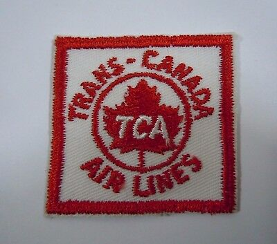 "TRANS-CANADA Airlines - Vintage Airline Embroidered Patch 2"" x 2"""