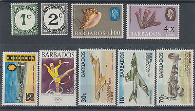 Barbabos 1934-1996 Selection Inc. 1970 $5 Stamp SG467 Mint & Used Hinged (#1631)