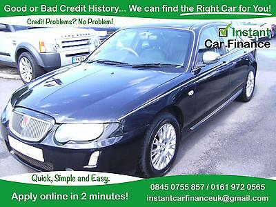 Rover 75 2.0 CDTi Connoisseur SE- Credit Problems ?? We can help ! 0161-972-0565