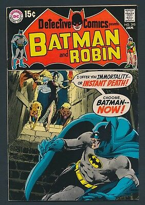 KEY DC COMICS 1970 BATMAN in DETECTIVE COMICS #395 - FIRST ADAMS & O'NEILL