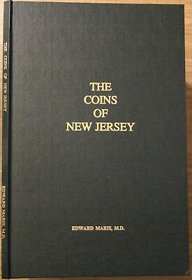 """The Coins of New Jersey"" by Edward Maris, 1987 reprint w/ plate, nice condition"
