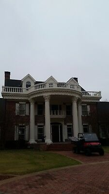 Architectural Columns, Roman Corinthian, Southern Mansion, Mansion, Antique