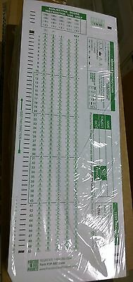 TEST FORMS 100 Scantron 882-E Compatible 50 pack double sided