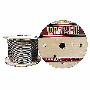 LOOS 316 Stainless Steel Cable,250 ft. L,1/8 in.,356 lb., SZ12519L