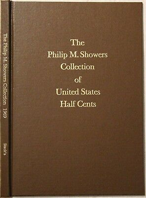 Stack's, The Philip M. Showers Collection of U.S. Half Cents, 1969, hardbound