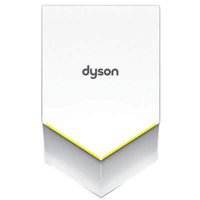 DYSON Hand Dryer,Integral,Polycarbonate ABS, 307173-01, White