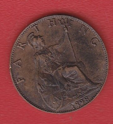 Great Britain Farthing 1898