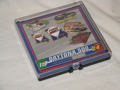 Pepsi Collectables Daytona 500 Commemerative Hat Pin Set - Limited Edition -