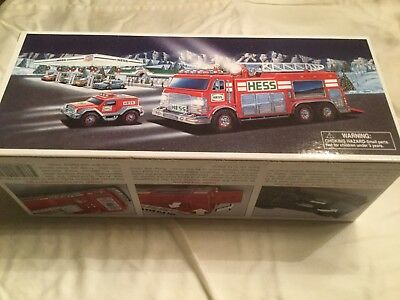 2005 Hess Emergency Truck With Rescue Vehicle - New in Box NIB