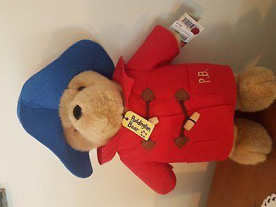 Classic Paddington Bear 37Cm Tall Bear, New With Tags. Purchased In London, Uk!