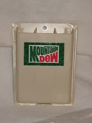 Pepsi Co. Mountain Dew Collectable Pencil Holder - Very Good Unused Condition -
