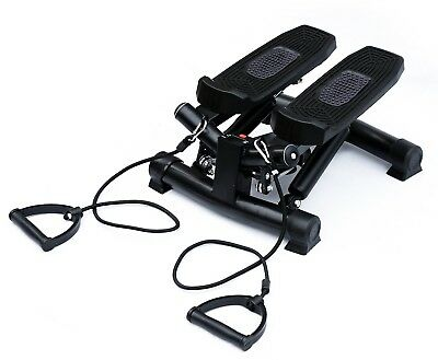 HOMCOM Mini Stepper Gym Exercise Leg Thigh Toning Workout Fitness Stair Arm