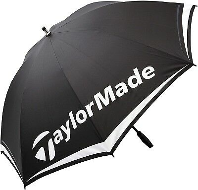 TaylorMade 2017 TM 60' Lightweight Single Canopy Mens Golf Umbrella