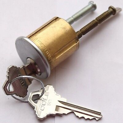 One Rim Cylinder in Schlage Key Way By American Lock w2 Keys Home or Office Use
