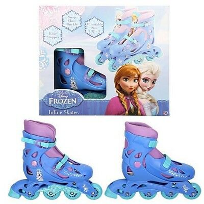 Disney Frozen  Adjustable Inline Skates Boots Size Between 13J - 3 NEW AND BOXED